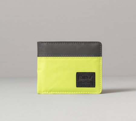 Herschel Supply Co. Roy+ Wallet Lime Green/ Black Reflective