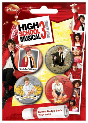 POSTERS Placka HSM3 - Troy