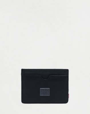 Herschel Supply Charlie Leather LEATHER BLACK LTH